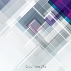 Abstract Rectangles Background Design Free Vector