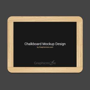 Chalkboard Mockup Design