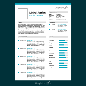Creative Resume Template Design