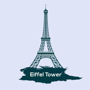 Eiffel Tower Free Vector