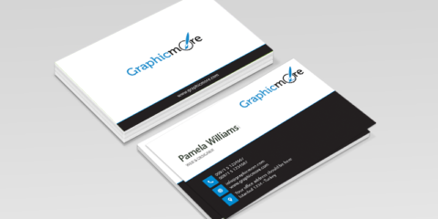 Elegant Business Card Design Free PSD File