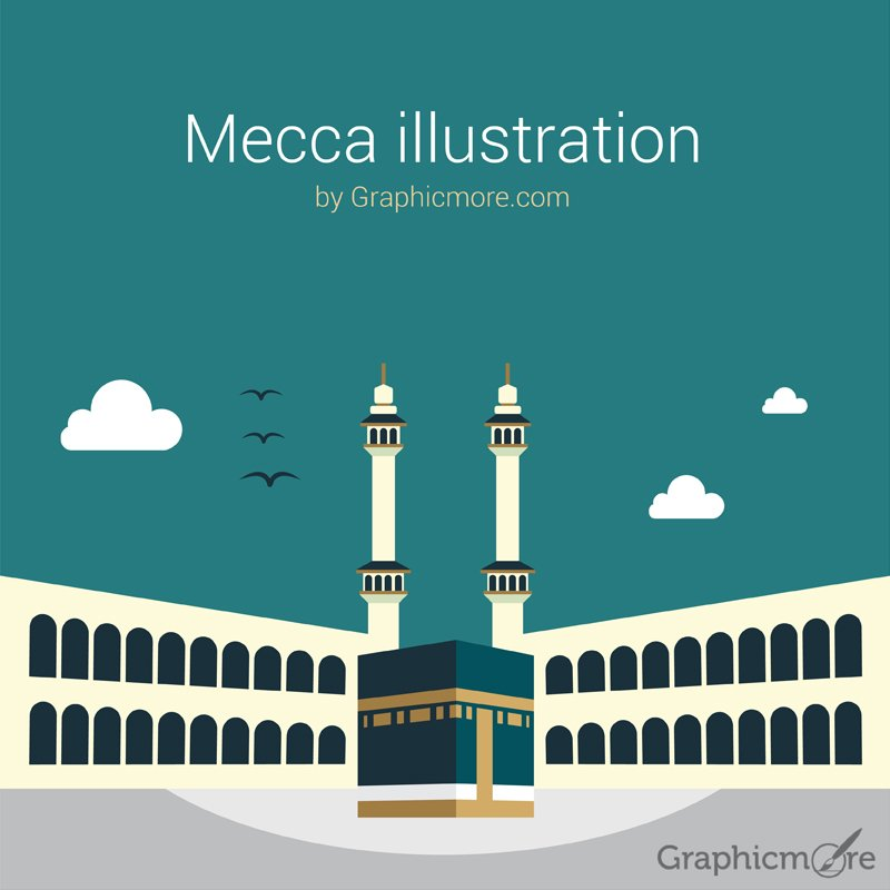 Mecca illustration