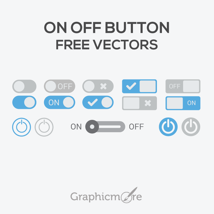On Off Button Free Vectors