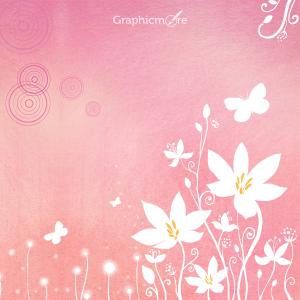 Romantic Background Pattern