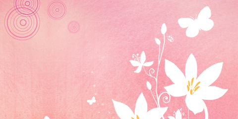 Romantic Background Pattern Free PSD