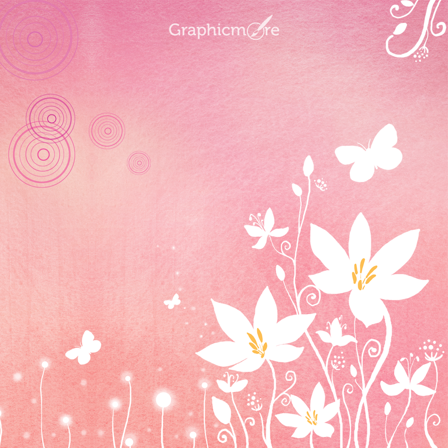 Romantic Background Pattern