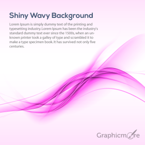 Shiny Pink Background Design Free Vector File