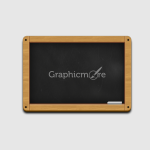 Wooden Black Chalkboard