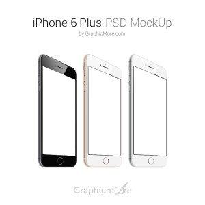 iPhone 6 Plus PSD Mockup