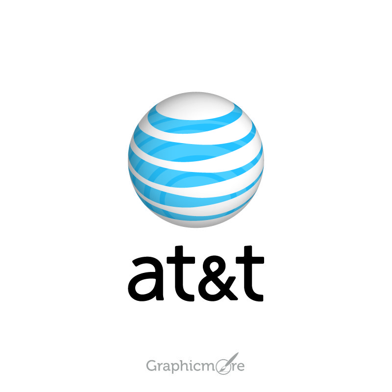 AT&T Logo Design Free Vector File