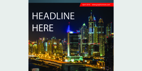 Business Magazine Cover Design Free Vector Download