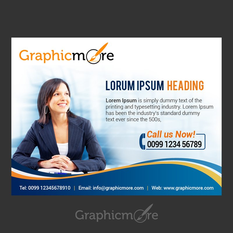 Corporate Business Banner Design Free PSD File