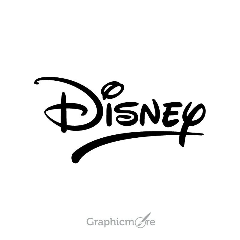 Disney Logo Design Free Vector File