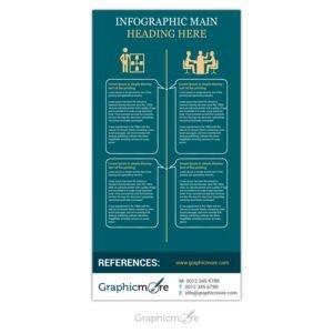 Elegant Infographic Design Free PSD File