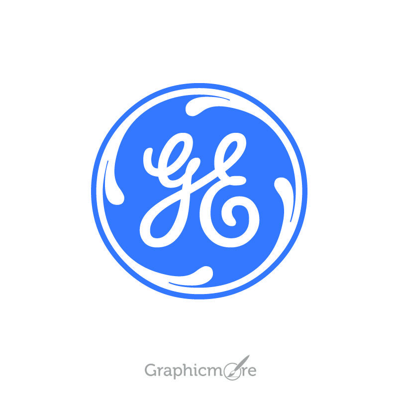 General Electric Logo Design Free Vector File