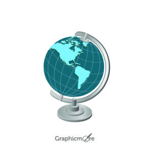 Globe Free Vector Icon Design File