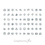 Icons Set Design Free PSD File