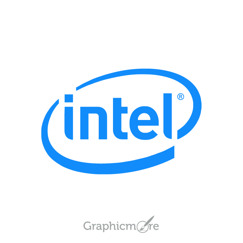Intel Vector Logo Design