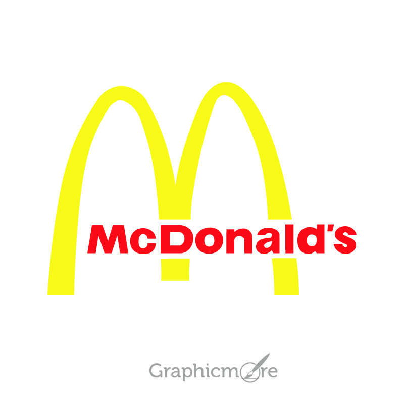 McDonald's Logo Design Free Vector File
