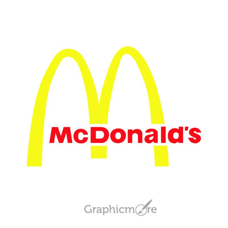 McDonald's Logo Design Free Vector File