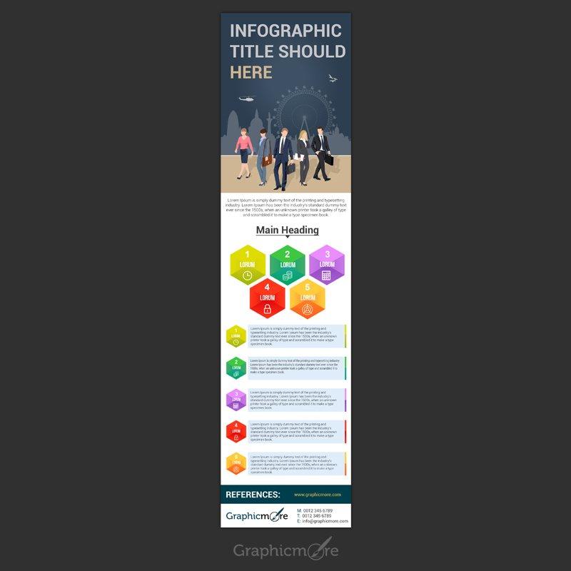 Multipurpose Infographic Design Free PSD