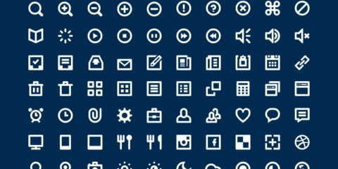 Top 80 Icons Design Free PSD File