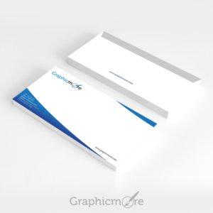 Blue Corporate Envelope Design Free PSD