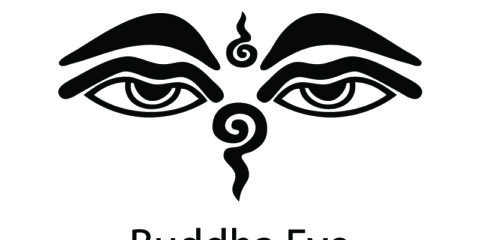 Buddha Eye Symbol Design Free Vector File