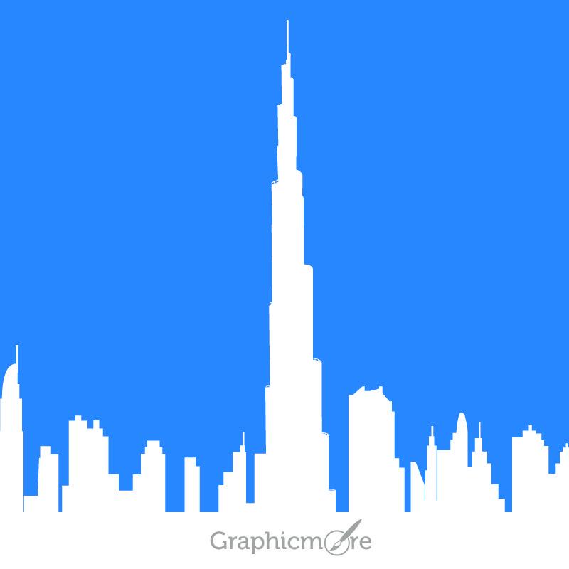 Burj Khalifa Free Vector File