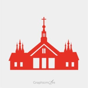Church Silhouette Design