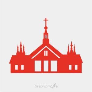 Church Silhouette Design