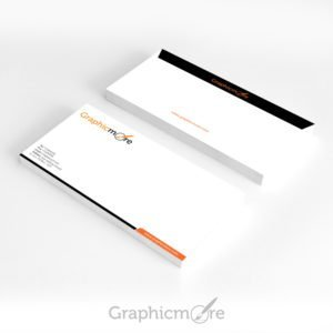 Clean Envelope Design Free PSD File by GraphicMore