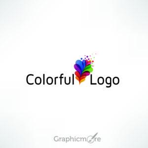 Colorful Logo Design Free Vector File