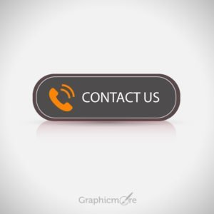 Contact Us Button Free Vector File