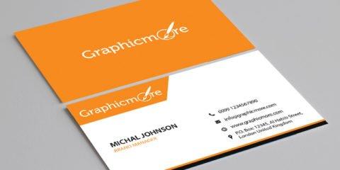 Corporate Business Card Template Design Free PSD File