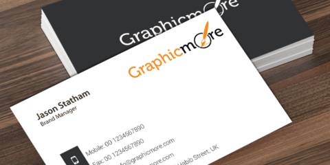 Corporate & Elegant Gray Business Card Template Design Free PSD File