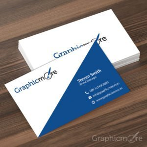 Creative Corporate Business Card Design Free PSD File by GraphicMore