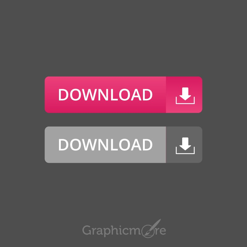 Download Buttons Free Vector File by GraphicMore
