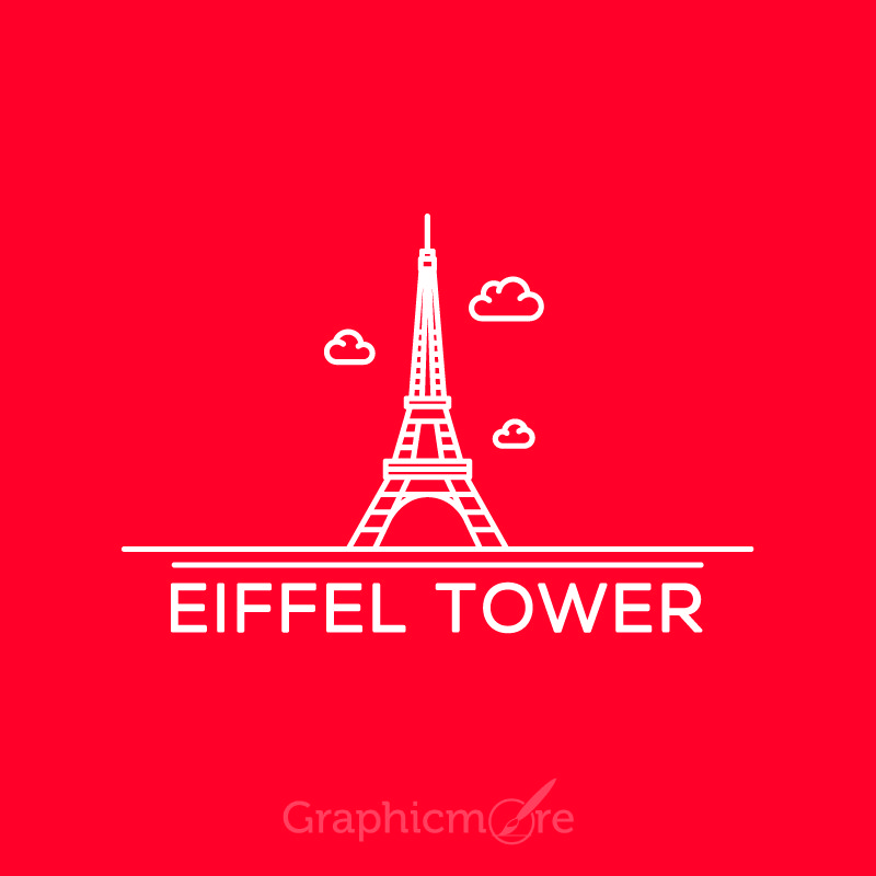 Eiffel Tower Paris Vector File