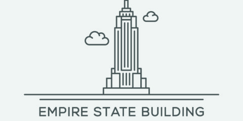 Empire State Building Vector File