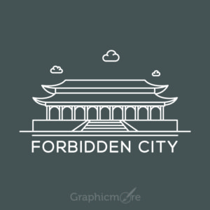 Forbidden City China Free Vector File