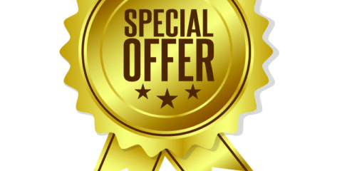 Gold Special Offer Badge Design Free Vector Download