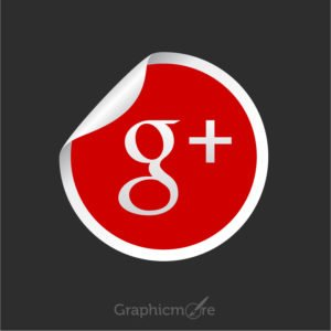 Google Plus Icon Free Vector File