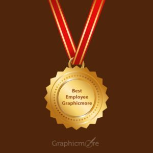 GraphicMore Gold Medal Design Free Vector File