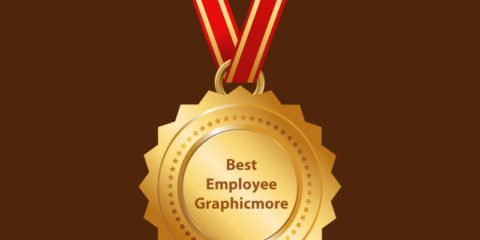 GraphicMore Gold Medal Design Free Vector File Download