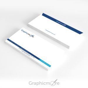 GraphicMore Navy Blue Envelope Design Free PSD File