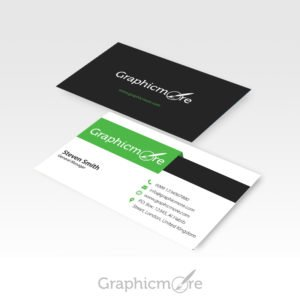 Green Creative Business Card Template by Graphicmore