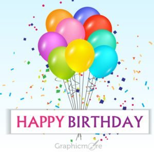 Happy Birthday Card Design Free Vector File