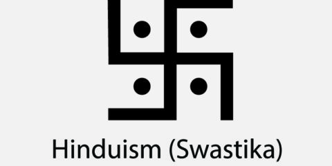 Hinduism Swastika Symbol Design Free Vector File
