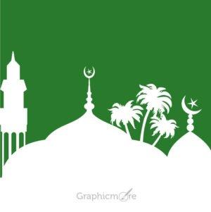 Islamic Mosque Design Free Vector File
